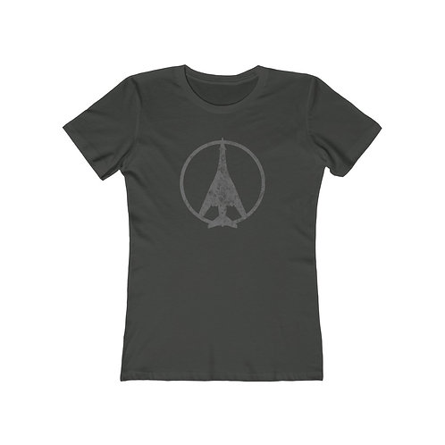B-1 PEACE THROUGH STRENGTH Women's The Boyfriend T-shirt