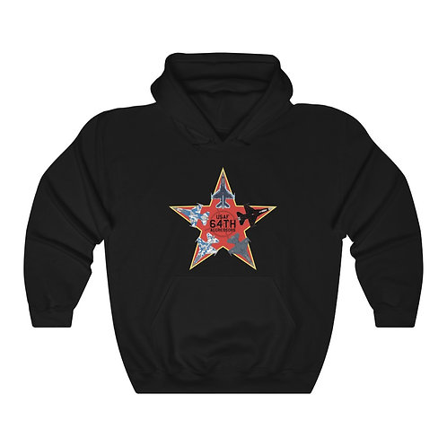 UNOFFICIAL 64 AGRS RED STAR F-16 AGGRESSORS Unisex Heavy Blend Hoodie