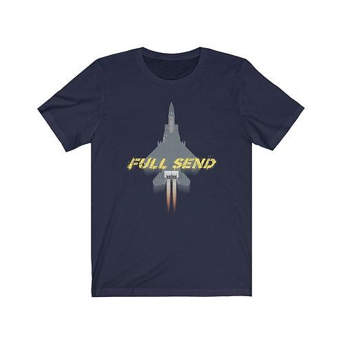 UNOFFICIAL USAF F-15E STRIKE EAGLE FULL SEND Lightweight T-shirt