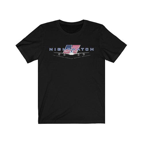 E-4B NIGHTWATCH 1ACCS USA Unisex Short Sleeve T-shirt