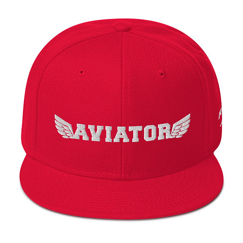 AVIATOR WINGS Snapback Hat