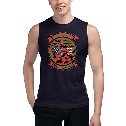 UNOFFICIAL RED FLAG 21-3 Muscle Shirt