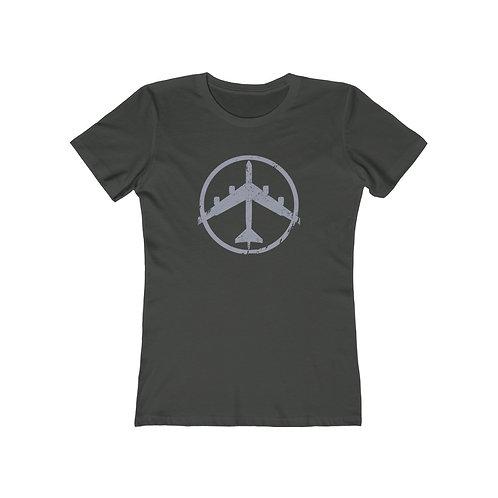 B-52 PEACE THROUGH STRENGTH Women's The Boyfriend T-shirt