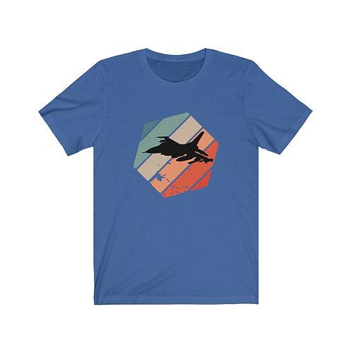RETRO F-16 Lightweight T-shirt