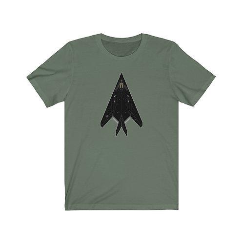 F-117A NIGHTHAWK Unisex Short Sleeve T-Shirt