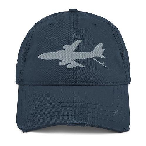 KC-135 NKAWTG Distressed Dad Hat