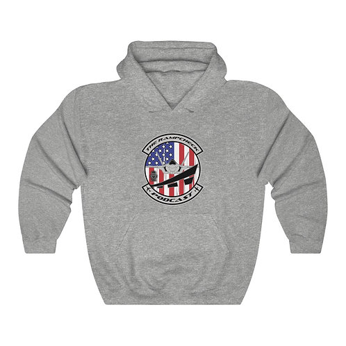 OFFICIAL THE RAMPCHECK PODCAST LOGO Unisex Heavy Blend Hoodie