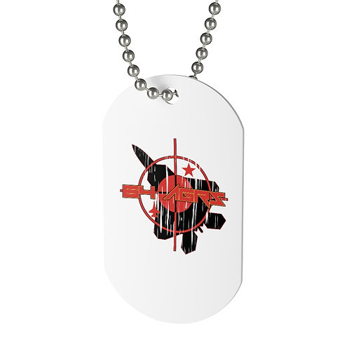 UNOFFICIAL 64 AGRS F-22A TARGET Dog Tag