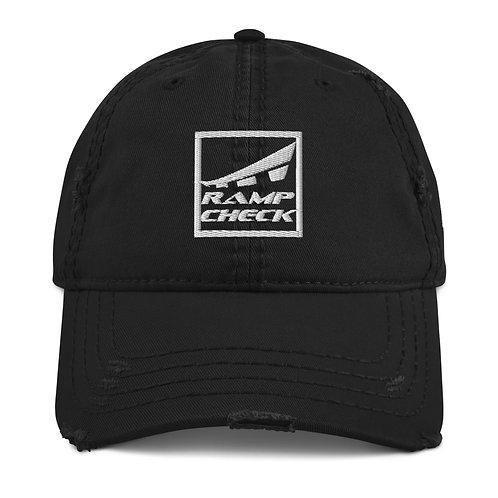 SQUARE RAMPCHECK LOGO AVGEEK Distressed Hat