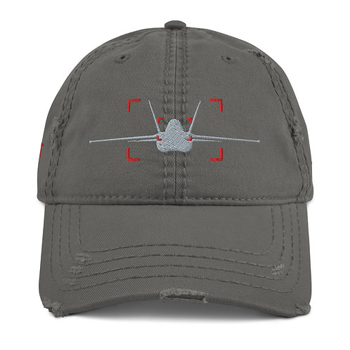 LOCKED ON HORNET AVIATION PHOTOGRAPHY Distressed Dad Hat