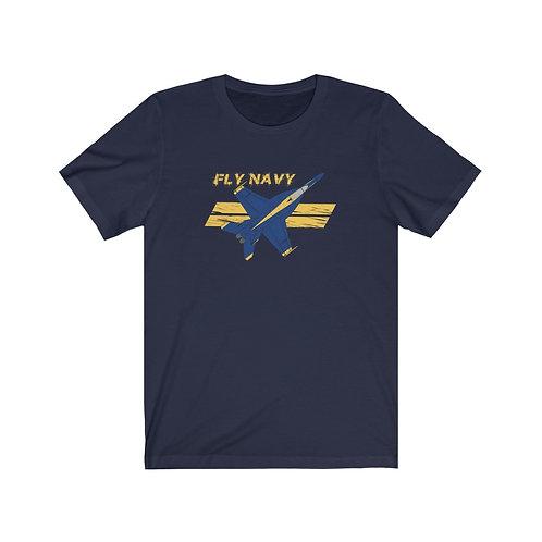 UNOFFICIAL USN BLUE ANGELS SUPER HORNET FLY NAVY Lightweight T-shirt