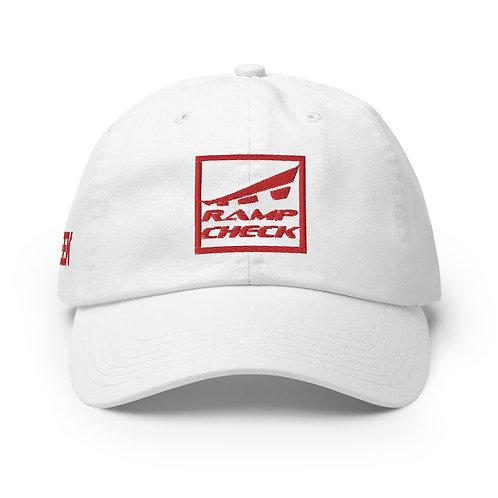RAMPCHECK SQUARE LOGO AVGEEK Red Thread Champion Hat