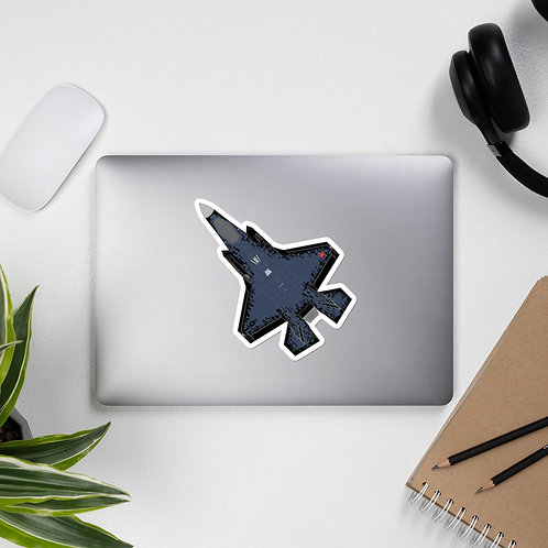 F-35 DARK GHOST AGGRESSOR CONCEPT STICKER