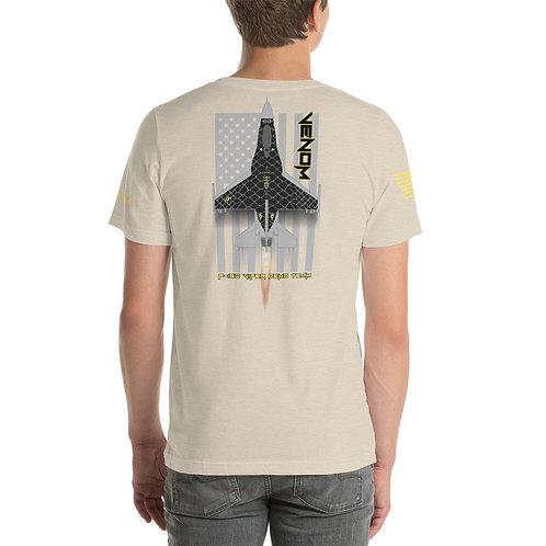 UNOFFICIAL USAF F-16C VIPER DEMO TEAM VENOM USA PREMIUM Lightweight T-shirt