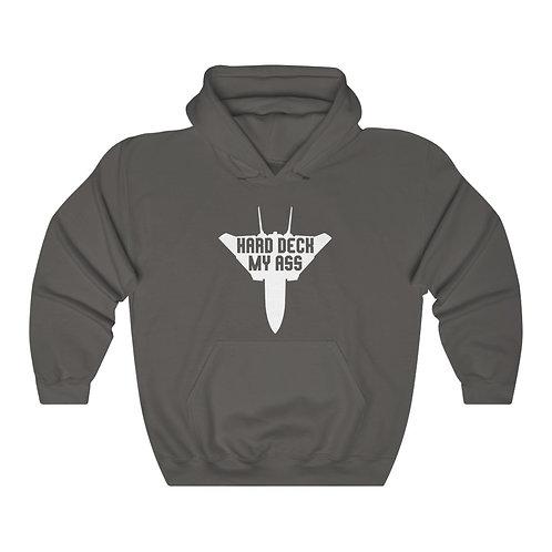 F-14 TOP GUN HARD DECK MY ASS Unisex Heavy Blend Hoodie
