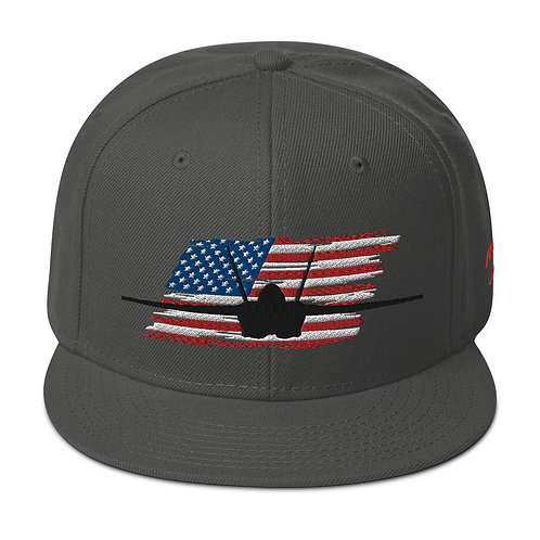 F/A-18 SUPER HORNET USA Snapback Hat