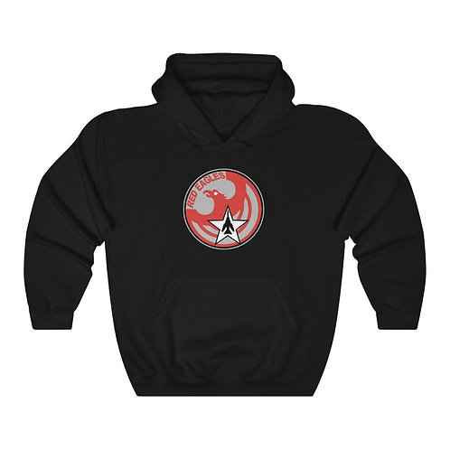 UNOFFICIAL USAF RED EAGLES MIG-23 FLOGGER Unisex Heavy Blend HOODIE
