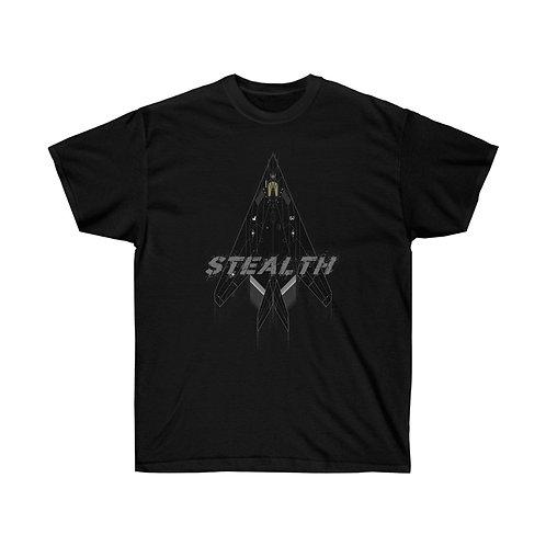 UNOFFICIAL USAF F-117A NIGHTHAWK STEALTH Heavyweight T-shirt