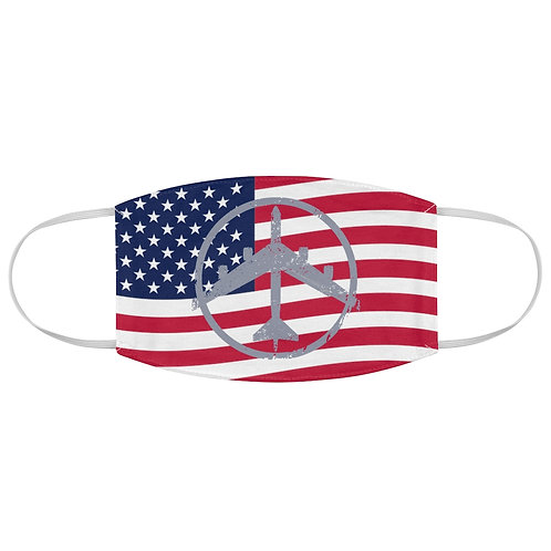 B-52 PEACE THROUGH STRENGTH USA Fabric Face Mask