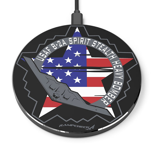 UNOFFICIAL USAF B-2A SPIRIT STEALTH HEAVY BOMBER USA Wireless Charger
