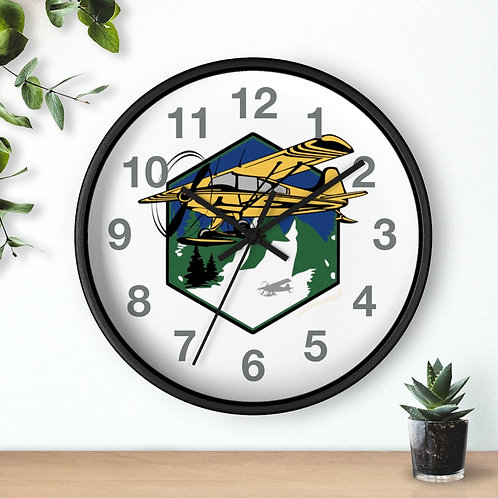 MOUNTAIN FLYING Wall clock
