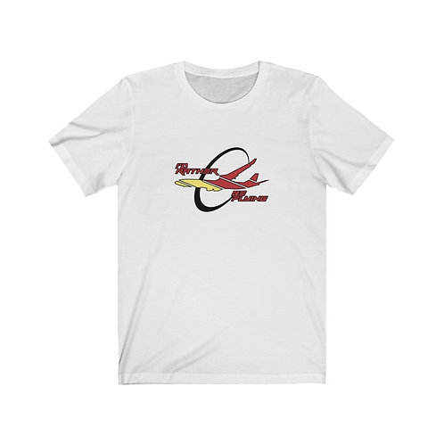 I'D RATHER BE FLYING AIRLINER Unisex Short Sleeve T-Shirt