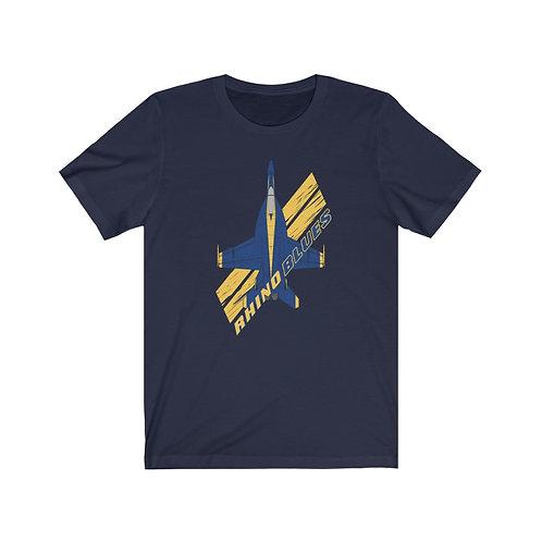 UNOFFICIAL USN BLUE ANGELS RHINO BLUES Lightweight T-shirt