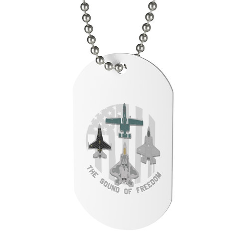 THE SOUND OF FREEDOM UNOFFICIAL USAF ACC DEMO TEAMS Dog Tag