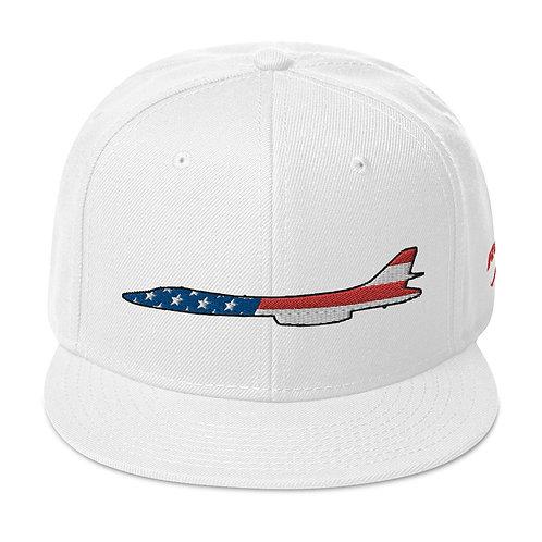 B-1 LANCER USA SIDE PROFILE Snapback Hat