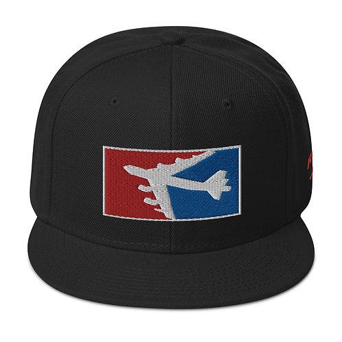 B-52 RWB Snapback Hat