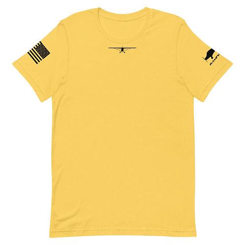 PIPER CUB PILOT STYLE USA Short-Sleeve Unisex T-Shirt