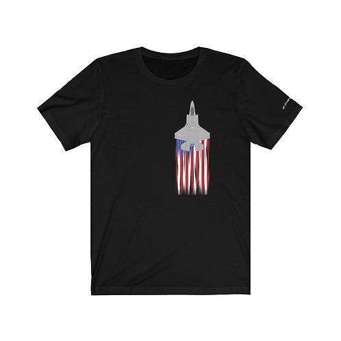 F-35A US FLAG FULL SEND Unisex T-Shirt