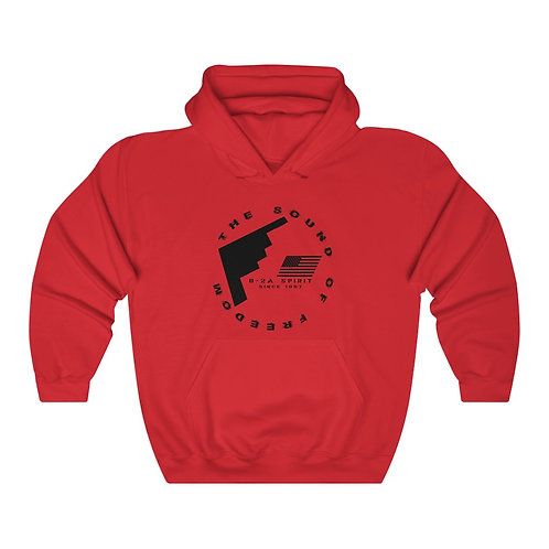 B-2A SPIRIT THE SOUND OF FREEDOM SINCE 1997 Unisex Heavy Blend Hoodie