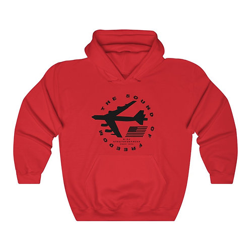 B-52 STRATOFORTRESS THE SOUND OF FREEDOM SINCE 1952 Unisex Heavy Blend Hoodie