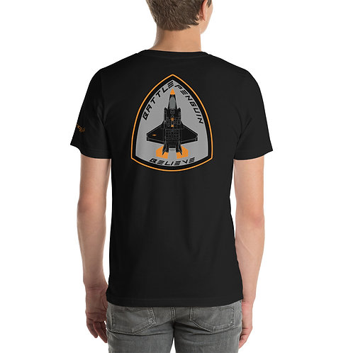 F-35 BATTLE PENGUIN BELIEVE BADGE OF HONOR Lightweight T-Shirt