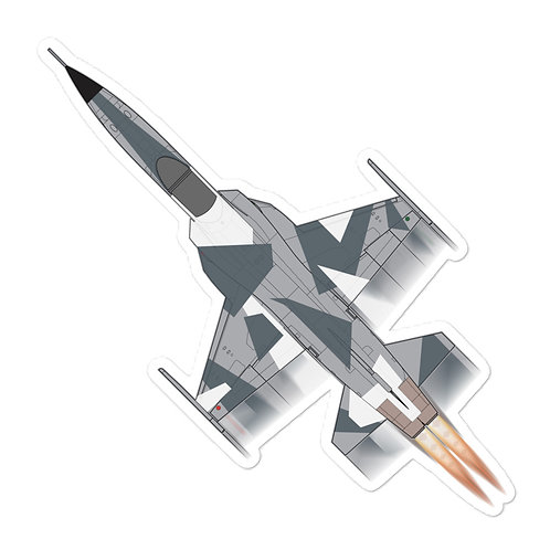 F-5 SPLINTER AGGRESSOR FULL SEND STICKER