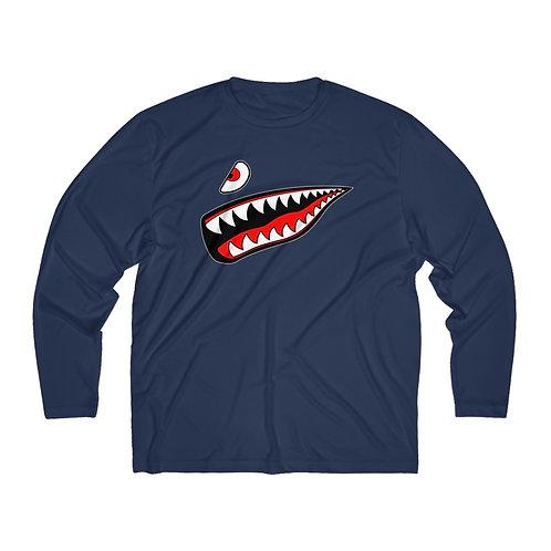 WARBIRD SHARK TEETH Men's Long Sleeve Sport Tee