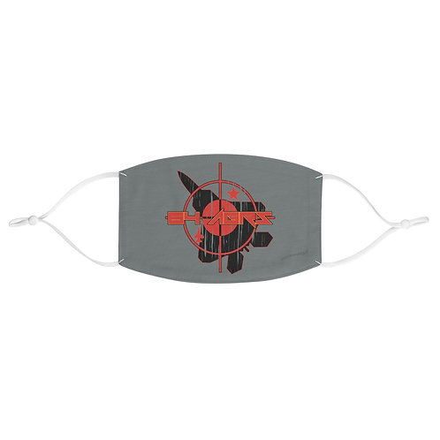 UNOFFICIAL USAF 64TH AGRS F-22 TARGET Fabric Face Mask