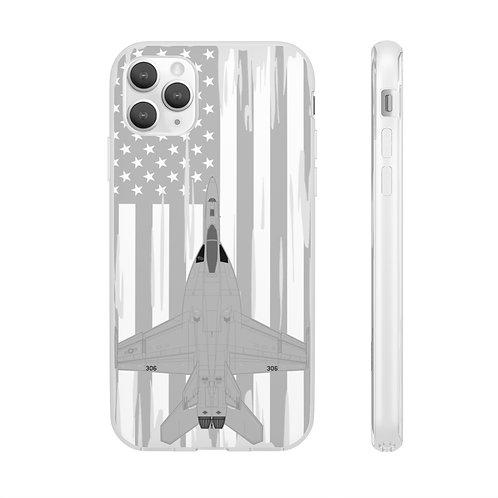 F/A-18E SUPER HORNET USA Flexi Phone Case