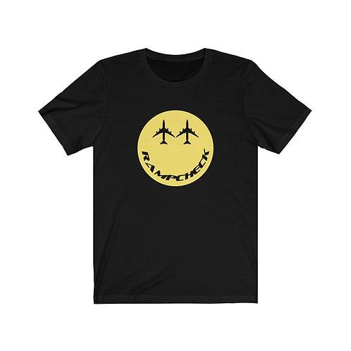 RAMPCHECK SMILE 747 EYES Unisex Short Sleeve T-Shirt
