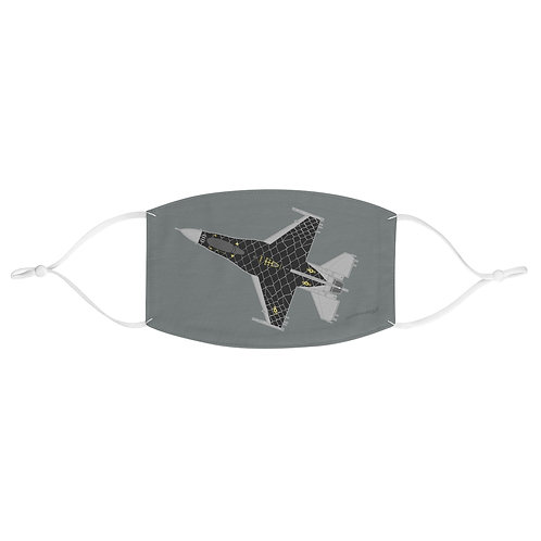 UNOFFICIAL USAF F-16C VIPER DEMO TEAM Fabric Face Mask