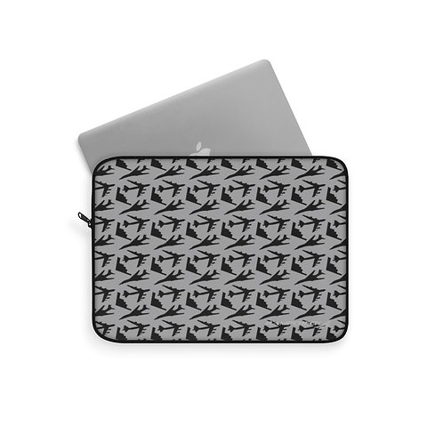USAF B-1 B-2 B-52 BOMBERS PATTERN Laptop Sleeve
