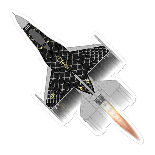 UNOFFICIAL USAF F-16C DEMO TEAM VENOM FULL SEND STICKER