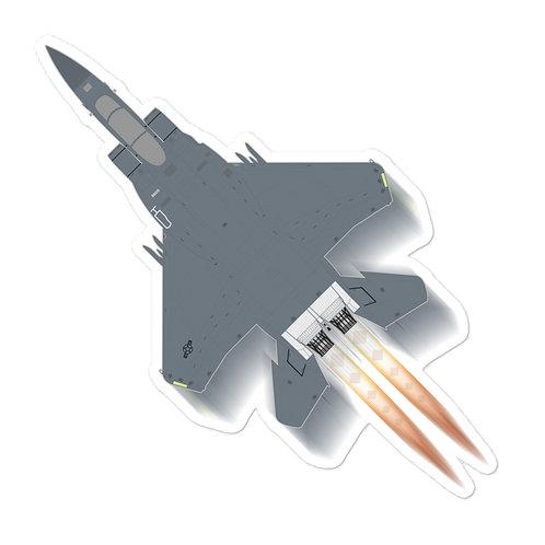 UNOFFICIAL USAF F-15E FULL SEND STICKER