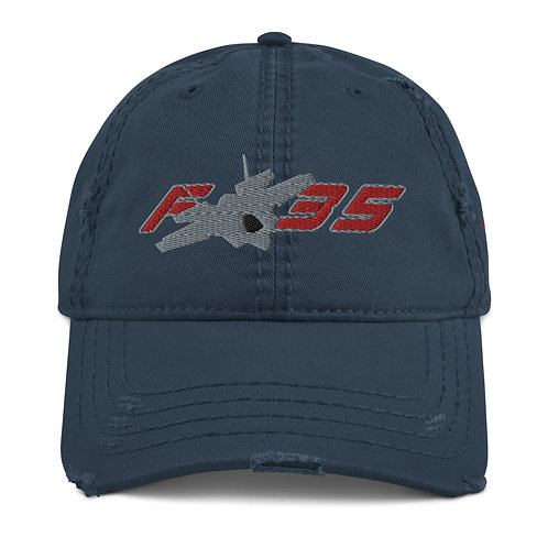 F-35 Distressed Hat
