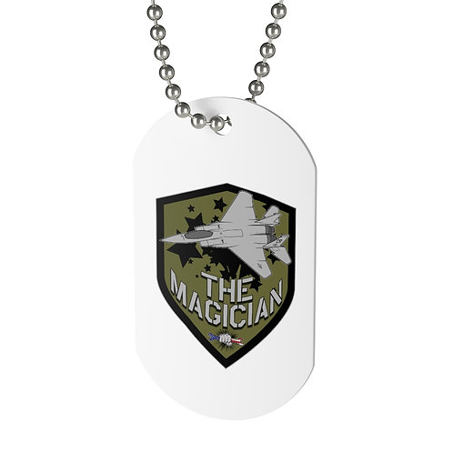 @thexmagicianx Dog Tag