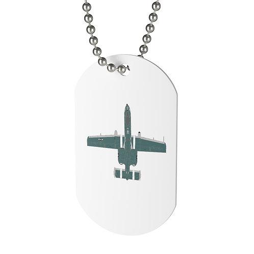 UNOFFICIAL A-10C THUNDERBOLT II DEMO TEAM Dog Tag