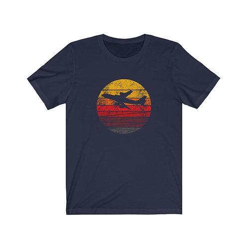 KC-135 DISTRESSED RETRO SUNSET Unisex T-Shirt