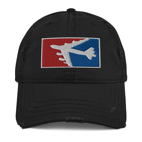 B-52 RWB Distressed Hat