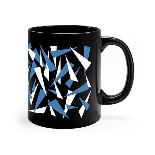 RAMPCHECK DARK SPLINTER CAMO Black mug 11oz